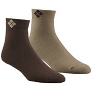 Cushioned Wool Quarter Sock - 2 Pk