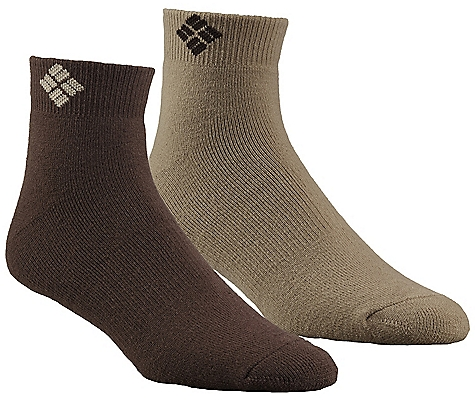 photo: Columbia Cushioned Wool Quarter Sock