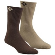 Cushioned Wool Crew Sock - 2 Pk