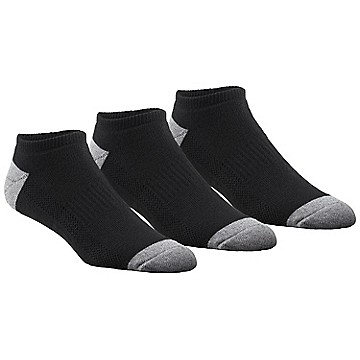 Men's Athletic Cushioned No Show - 3 pack