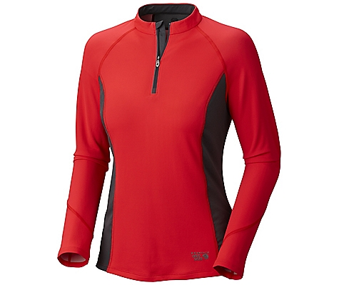 Mountain Hardwear Aliso Long-Sleeve Zip T