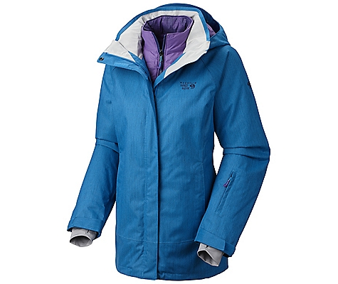 photo: Mountain Hardwear Snowburst Trifecta Redux component (3-in-1) jacket