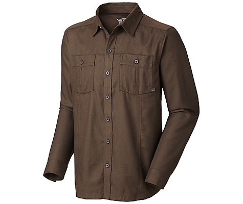Mountain Hardwear Solid Flannel Twill Long Sleeve Shirt