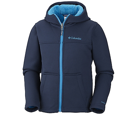 photo: Columbia Snow Grid Hoodie fleece jacket