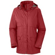 Women's Precipitation Nation™ Fleece Lined Rain Jacket