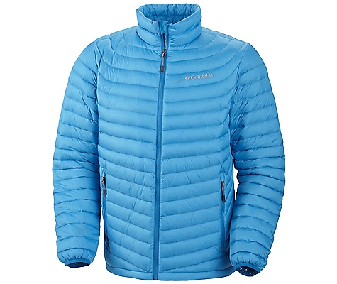 photo: Columbia Men's Powerfly Down Jacket down insulated jacket