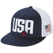 Columbia Mesh™ USA Flat Brim Ball Cap