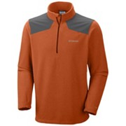 Men's Grid Line™ Half Zip Fleece Jacket