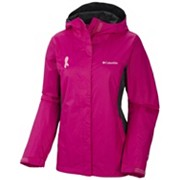 Women's Tested Tough in Pink™ Rain Jacket II - Extended Size