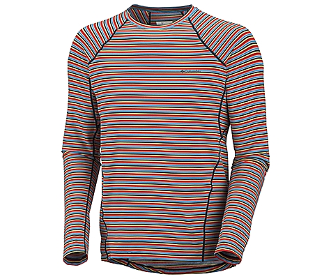Columbia Baselayer Midweight Long Sleeve Stripe Top