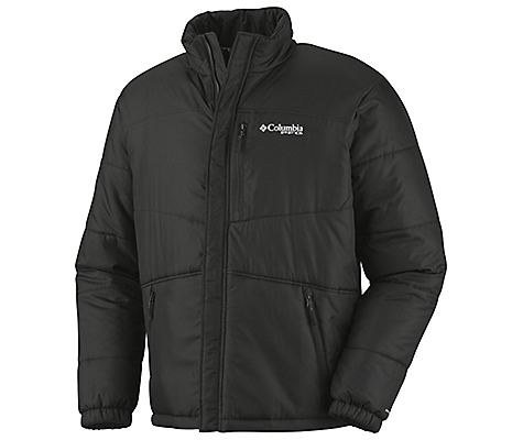photo: Columbia Squall Line Insulated Jacket Omni-Heat synthetic insulated jacket