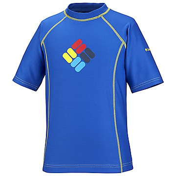 Toddler Boys Sun's Up™ Sunguard Short Sleeve