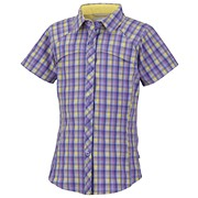 Girls Silver Ridge™ Plaid Short Sleeve Shirt