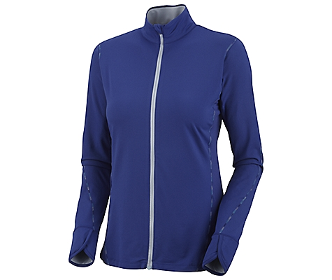 photo: Columbia Anytime Active Full Zip long sleeve performance top