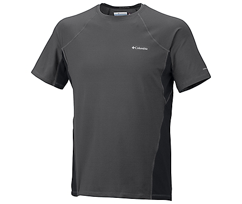 photo: Columbia Men's Baselayer Midweight Short Sleeve Top base layer top