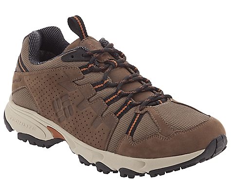 photo: Columbia Talus Ridge Low Waterproof Leather trail shoe