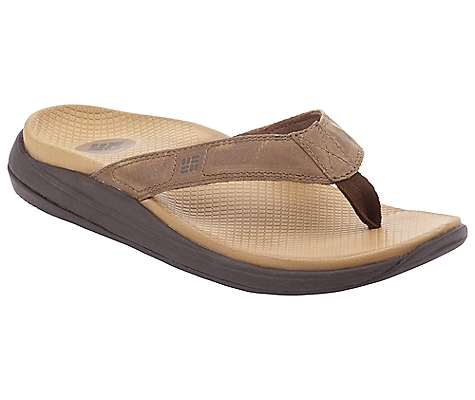 photo: Columbia Willametty Flip Leather flip-flop