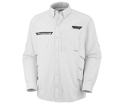 photo: Columbia Airgill Chill Long Sleeve Shirt hiking shirt