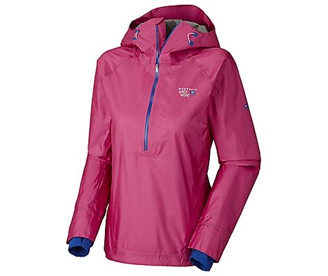 photo: Mountain Hardwear Women's Quasar Pullover waterproof jacket
