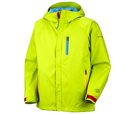 photo: Columbia Boys' TechniKolor Jacket waterproof jacket