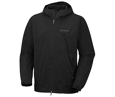 photo: Columbia Men's Tech Attack Shell waterproof jacket