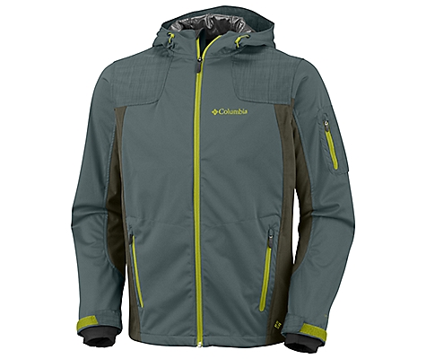 photo: Columbia Men's Guide Ride Softshell soft shell jacket