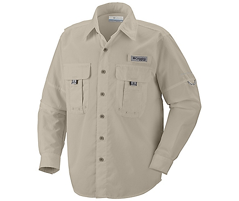 photo: Columbia Boys' Bahama II Long Sleeve Shirt