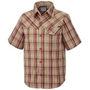 Boy's Silver Ridge™ II Plaid SS Shirt