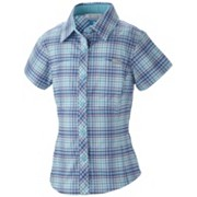 Girl's Silver Ridge™ II Plaid Short Sleeve Shirt