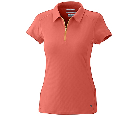 photo: Columbia Women's Freeze Degree Short Sleeve Polo
