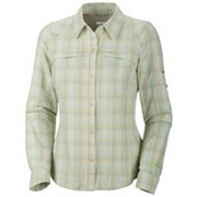 Women's Silver Ridge™ Plaid Long Sleeve Shirt