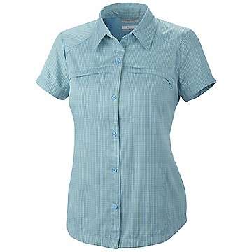 Women's Silver Ridge™ Multi Plaid Short Sleeve Shirt