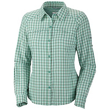Women's Silver Ridge™ Plaid Long Sleeve Shirt - Extended Size