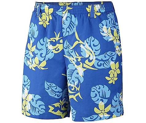 photo: Columbia Backcast Printed Short active short