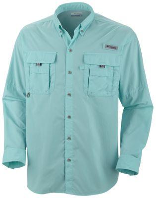 Men S Pfg Bahama Ii Long Sleeve Shirt