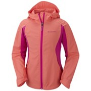 Girls' Splash Flash™ II Hooded Softshell Jacket