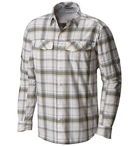 Men's Silver Ridge™ Plaid Long Sleeve Shirt - Big