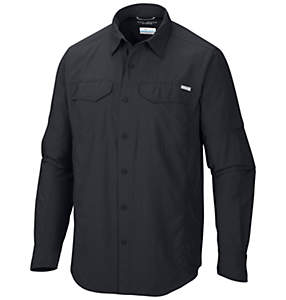Chemise à manches longues Silver Ridge™ pour homme – Taille forte