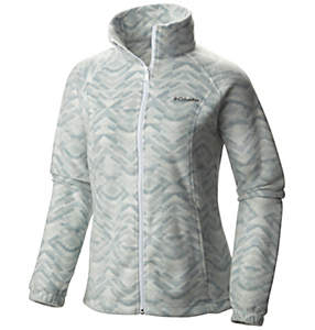 Women's Benton Springs™ Printed Full Zip Jacket - Plus Size