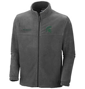 Men's Collegiate Flanker™ II Full Zip Fleece - Michigan State