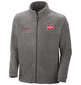 Men's Collegiate Flanker™ II Full Zip Fleece - Nebraska