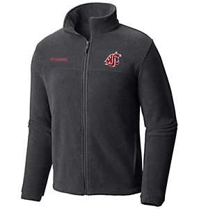 Men's Collegiate Flanker™ II Full Zip Fleece - Washington State