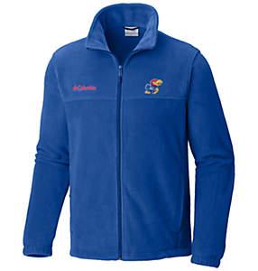 Men's Collegiate Flanker™ II Full Zip Fleece - Kansas