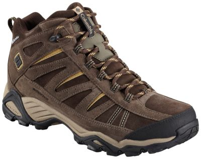 photo: Columbia North Plains Mid Leather Waterproof