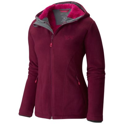 Women's Dual Fleece™ Hooded Jacket | MountainHardwear.com