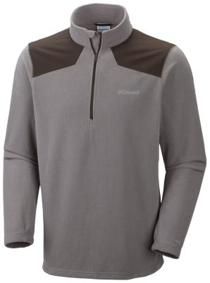 Columbia Grid Line Half Zip Fleece