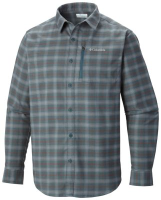 photo: Columbia Royce Peak Flannel Long Sleeve Shirt