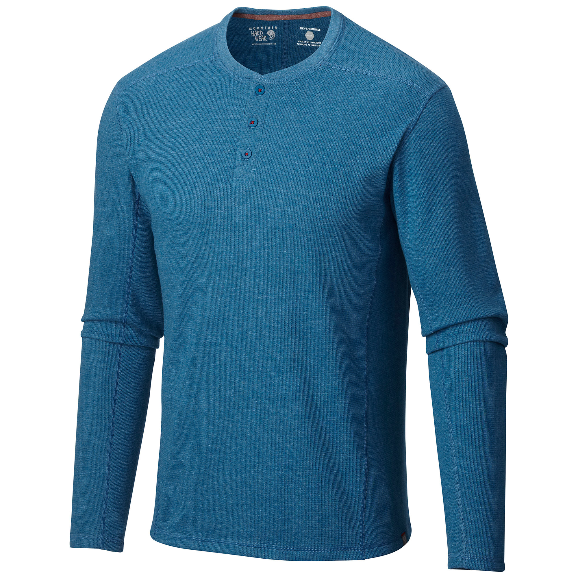 photo: Mountain Hardwear Men's Trekkin Thermal Henley long sleeve performance top