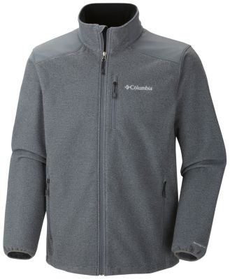 photo: Columbia Wind Protector Sweater-Face Fleece Jacket