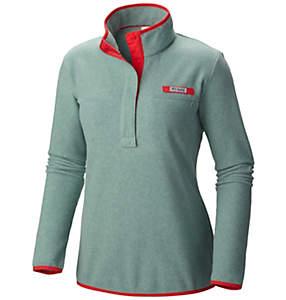 Women's PFG Harborside™ Fleece Pullover Jacket - Plus Size